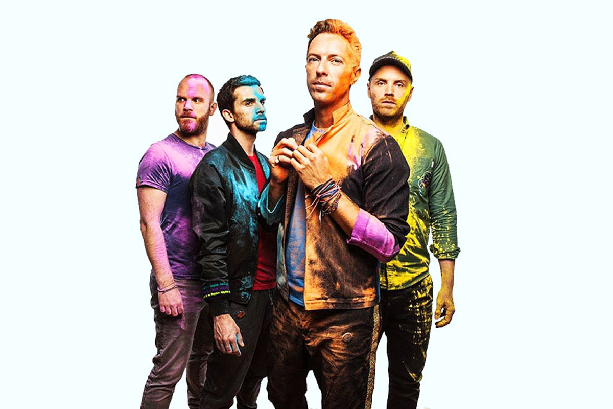COLDPLAY:  Global Citizen Festival's Sparkling Star
